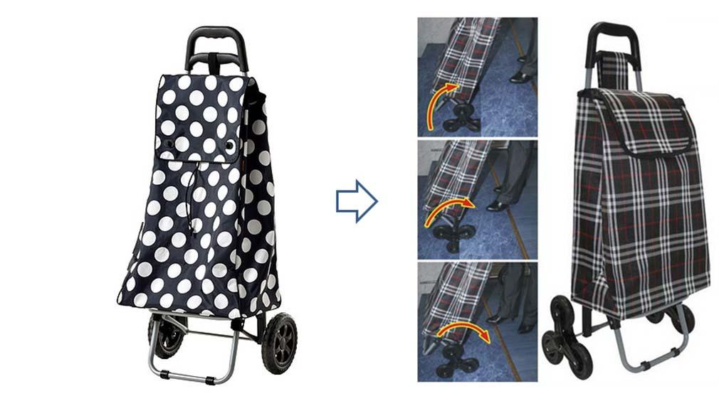 Хозяйственные сумки на колесиках.