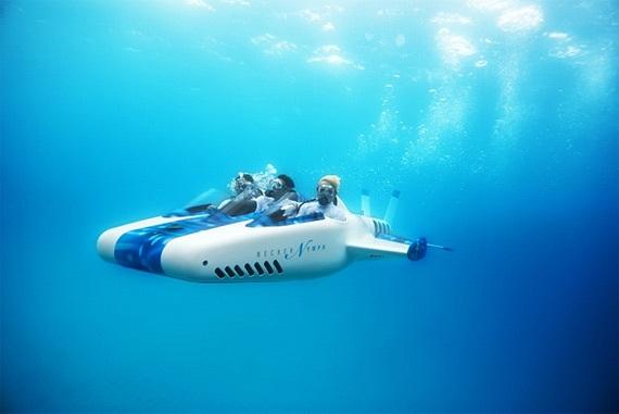 Подводный аппарат «сухого»