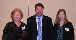 Ellen Domb, Michael Slocum and Katie Barry